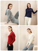 Johnstons Cashmere Long Sleeves Plain Cashmere