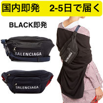 BALENCIAGA EVERYDAY TOTE Unisex Nylon Street Style 2WAY Plain