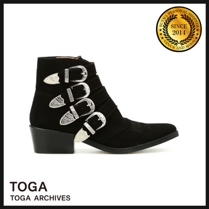 Casual Style Suede Boots Boots