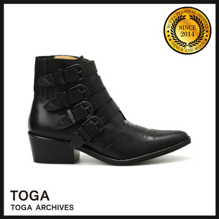 Casual Style Leather Boots Boots