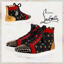 Christian Louboutin Monogram Low-Top Sneakers