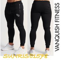 Tapered Pants Sweat Street Style Tapered Pants