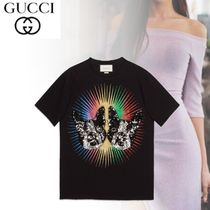 GUCCI Other Animal Patterns Short Sleeves Shirts & Blouses