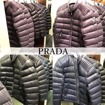 PRADA Plain Down Jackets