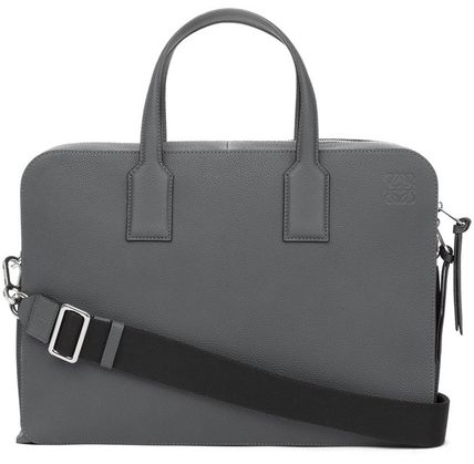 LOEWE Calfskin A4 Plain Business & Briefcases