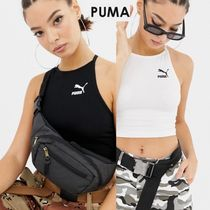 PUMA Short Casual Style Street Style Plain Tanks & Camisoles