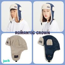 ROMANTIC CROWN Unisex Street Style Felt Hats Hats & Hair Accessories