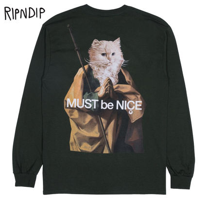 RIPNDIP Long Sleeve Street Style Long Sleeves Long Sleeve T-Shirts