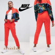 Nike Flower Patterns Sweat Plain Long Sweatpants