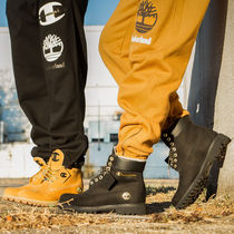 Timberland Casual Style Unisex Fur Street Style Collaboration