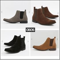 ASOS Suede Plain Loafers & Slip-ons