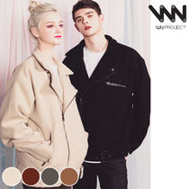 WV PROJECT Unisex Wool Street Style Collaboration Plain Jackets