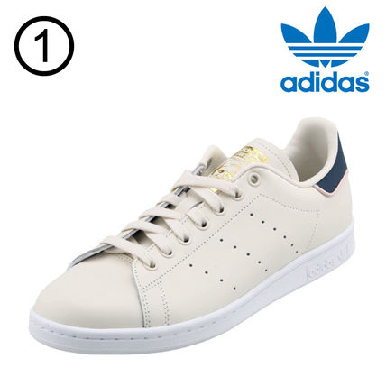 adidas Sneakers Heart Unisex Street Style Plain Leather Oversized Sneakers 2
