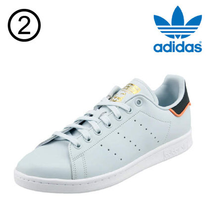 adidas Sneakers Heart Unisex Street Style Plain Leather Oversized Sneakers 3