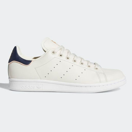 adidas Sneakers Heart Unisex Street Style Plain Leather Oversized Sneakers 4