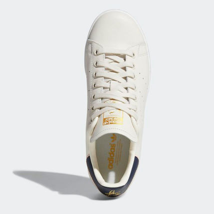 adidas Sneakers Heart Unisex Street Style Plain Leather Oversized Sneakers 5
