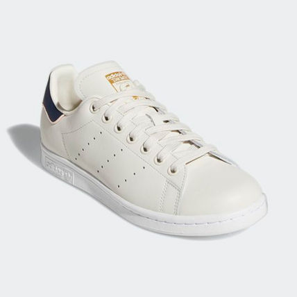 adidas Sneakers Heart Unisex Street Style Plain Leather Oversized Sneakers 7
