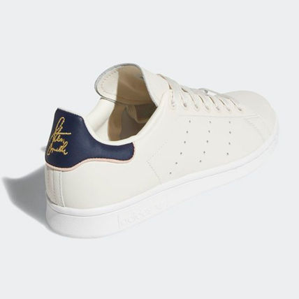 adidas Sneakers Heart Unisex Street Style Plain Leather Oversized Sneakers 8