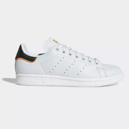 adidas Sneakers Heart Unisex Street Style Plain Leather Oversized Sneakers 11