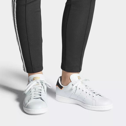 adidas Sneakers Heart Unisex Street Style Plain Leather Oversized Sneakers 12