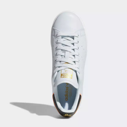 adidas Sneakers Heart Unisex Street Style Plain Leather Oversized Sneakers 13