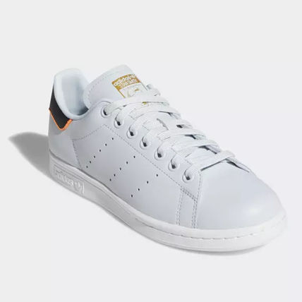 adidas Sneakers Heart Unisex Street Style Plain Leather Oversized Sneakers 15