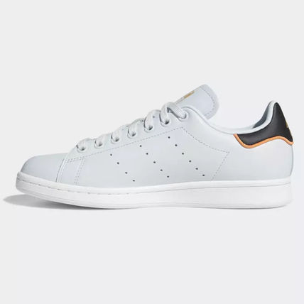 adidas Sneakers Heart Unisex Street Style Plain Leather Oversized Sneakers 17