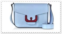 COCCINELLE Leather Elegant Style Crossbody Shoulder Bags
