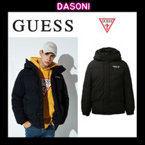 Guess Unisex Street Style Down Jackets