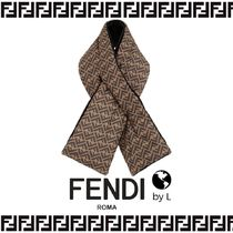 FENDI Silk Detachable Collars