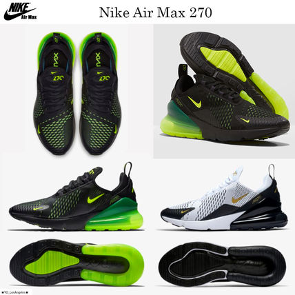 competitive price 9becf a8df4 Nike AIR MAX 270 2019 SS Street Style Sneakers