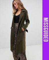 Missguided Casual Style Long Coats