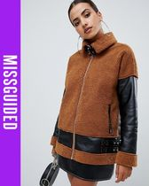 Missguided Casual Style Faux Fur Coats