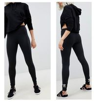 adidas Casual Style Blended Fabrics Street Style Long Bottoms