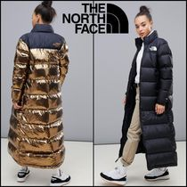 THE NORTH FACE Nuptse Unisex Plain Long Down Jackets
