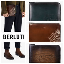 Berluti Leather Clutches