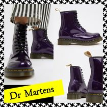 Dr Martens Lace-up Unisex Plain Lace-up Boots