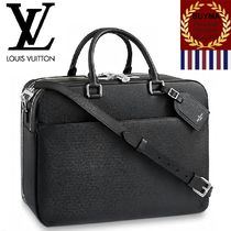 Louis Vuitton TAIGA Unisex 1-3 Days Soft Type Luggage & Travel Bags