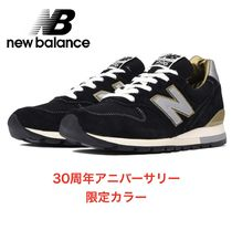 New Balance 996 Suede Street Style Plain Sneakers