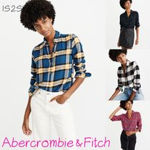 Abercrombie & Fitch Glen Patterns Other Check Patterns Casual Style Street Style
