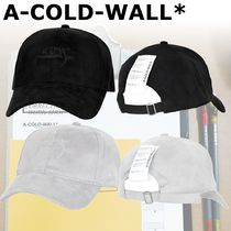 A-COLD-WALL Street Style Wide-brimmed Hats