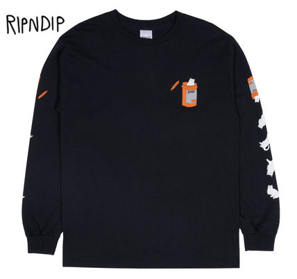 RIPNDIP Long Sleeve Crew Neck Street Style Long Sleeves Long Sleeve T-Shirts