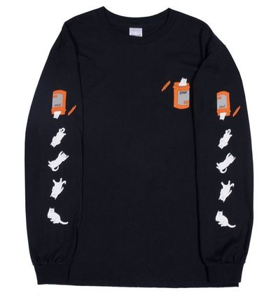 RIPNDIP Long Sleeve Crew Neck Street Style Long Sleeves Long Sleeve T-Shirts 2