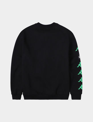 Kappa Sweatshirts Unisex Street Style Logos on the Sleeves Sweatshirts 6