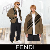 FENDI FOREVER Fur Plain Jackets