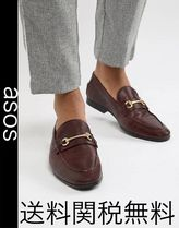 ASOS Loafers Plain Leather U Tips Oxfords