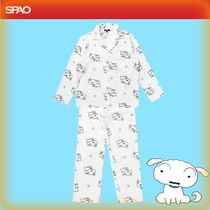 SPAO Dots Unisex Street Style Collaboration Lounge & Sleepwear