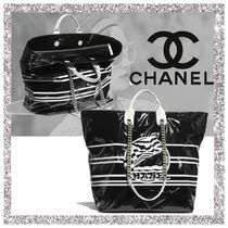 CHANEL Casual Style Nylon A4 2WAY Bags