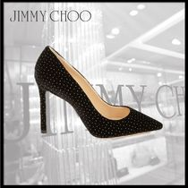 Jimmy Choo Leather Pointed Toe Pumps & Mules