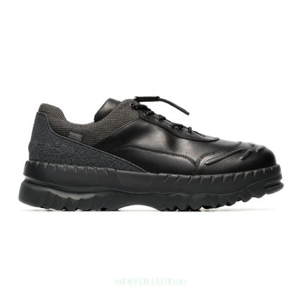 Mountain Boots Street Style Collaboration Leather Sneakers